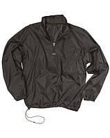 Куртка-ветровка с чехлом, black