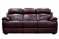 """Кожаный диван прямой раскладной """"Morrison """""""