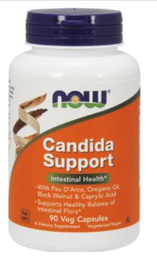 Засіб від молочниці і грибкових інфекцій, Now Foods, Candida Support, 90 vcaps