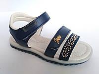 Детские босоножки для девочки фирмы Tom. m с открытым носком и пяткой (р. 26-31)