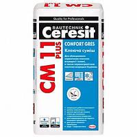 Клей для плитки Ceresit СМ 11 Plus Comfort Gres 25 кг