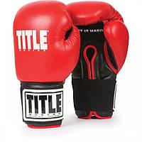 Детские боксерские перчатки для спаррингов TITLE Eternal Youth Sparring Gloves