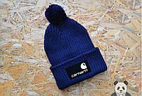 Модная мужская шапка carhartt с бубоном
