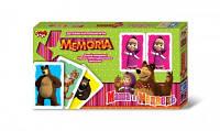 """Игра для развития памяти """"Мемори"""" серии """"Маша и Медведь"""", в кор. 15*26*3см (12 шт)"""