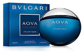 Bvlgari Aqva pour Homme Atlantiqve  (Булгари Аква Пур Хом Атлантик), мужская туалетная вoда, 100 ml