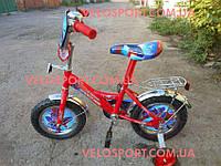 Детский велосипед Mustang Человек Паук 12 дюймов