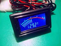 Термометр -10 ... 100 °C цифровой ЖК встраиваемый для автомобиля, компьютера, фото 1