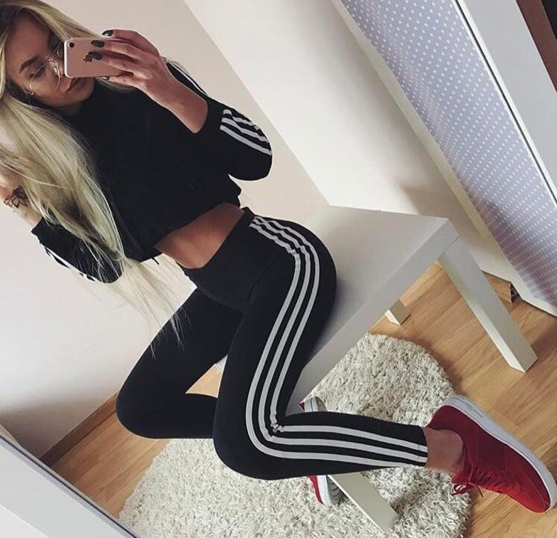 Фитнес лосины женские  Adidas