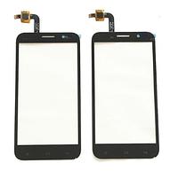 Сенсорный экран для мобильного телефона Fly IQ455 Ego Art 2. черный. #LCNS0501031 REV-A0