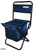 Раскладной стул для рыбалки с сумкой.