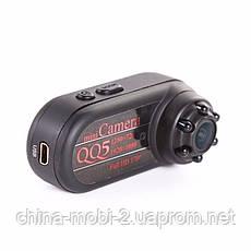 Мини камера регистратор dv dvr QQ5  md98  с ночной подсветкой, черная, фото 2