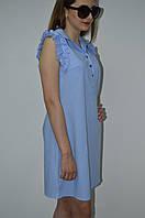 Женское платье из катона Italy, фото 1