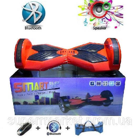 """Гироборд 8""""  подсветка, колонка, пульт ДУ, Bluetooth, чехол  Smart Balance Q8"""