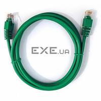 Патч-корд Cablexpert 0.5м (PP12-0.5M/G) UTP, Зеленый, 0.5 м, 5е cat. (PP12-0.5M/G)