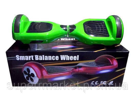 """Гироборд 6.5""""  подсветка, колонка Bluetooth   Smart Balance Q23, фото 2"""