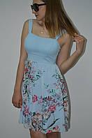 Платье на бретельках с юбкой из шифона Italy, фото 1