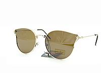 Солнцезащитные женские очки Коричневые Aedoll