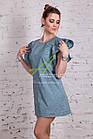 Женское летнее платье в горошек 2018 от производителя - Код пл-227, фото 5