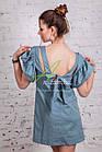 Женское летнее платье в горошек 2018 от производителя - Код пл-227, фото 6