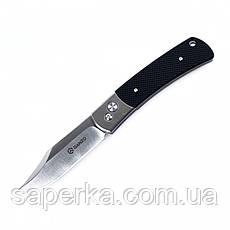 Нож туристический Ganzo (черный, зеленый) G7471-BK, фото 3