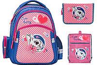 K17-522S Набор школьный Kite(Рюкзак+сумка+пенал) Cute Bunny