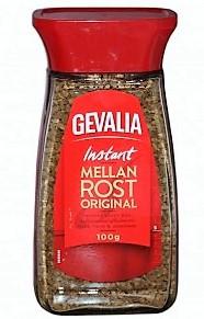 Кофе растворимый GEVALIA Mellan Rost  100 г.  с/б