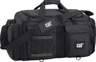 aaaddd475217 -50% Дорожная сумка CAT Combat Visiflash 83396;01 черный, 55 л