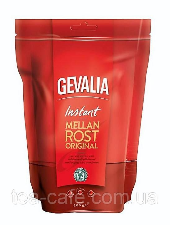 Кофе растворимый GEVALIA Mellan Rost  200 г.  м/у