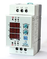 Электронный контактор на дин рейку со встроенным тепловым реле и реле времени - цена купить в Киеве недорого 25А