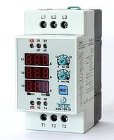 Электронный контактор на дин рейку со встроенным тепловым реле и реле времени - цена купить в Киеве недорого 32А