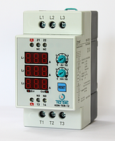 Электронный контактор на дин рейку со встроенным тепловым реле и реле времени - цена купить в Киеве недорого 12А
