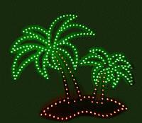 Пальмы светодиодные