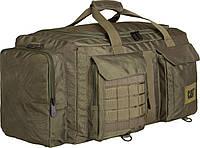 Прочная дорожная сумка  55 л. CAT Combat Visiflash 83396;40 темно-зеленый