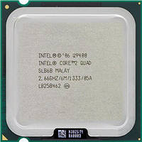 Б/У Процессор Intel Core 2 Quad Q9400 2.66GHz/6MB/1333MHz (BX80580Q9400SLB6B) S775 Tray