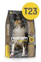 T23 Nutram Total Grain-Free® Turkey, Chicken & Duck 13,6кг+2,72кг - беззерновой корм для собак (три вида птиц)