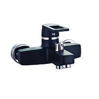 Черный дизайн-кран для ванной ZERIX Z3030-6