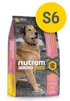 S6 Nutram Sound Adult Dog 5кг + ведро - корм для собак с курицей и коричневым рисом