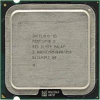 Б/У Процессор Intel Pentium D 925 3.00GHz/4M/800 s775, tray