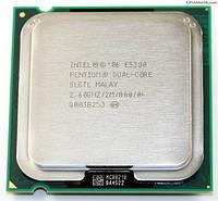 Б/У Процессор Intel Pentium Dual-Core E5300 2.60GHz/2MB/800MHz, tray