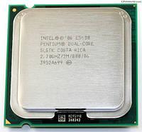 Б/У Процессор Intel Pentium Dual-Core E5400 2.70GHz/2M/800 s775, tray