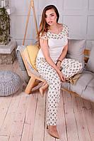 Хлопковая женская пижама Юлиана