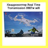 Квадрокоптер 8987W камера + WI-FI