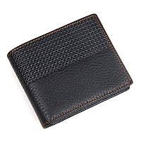 Мужской бумажник TIDING BAG 8147A черный