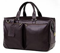 Коричневая мужская сумка ручной работы из кожи Blamont  Bn103C