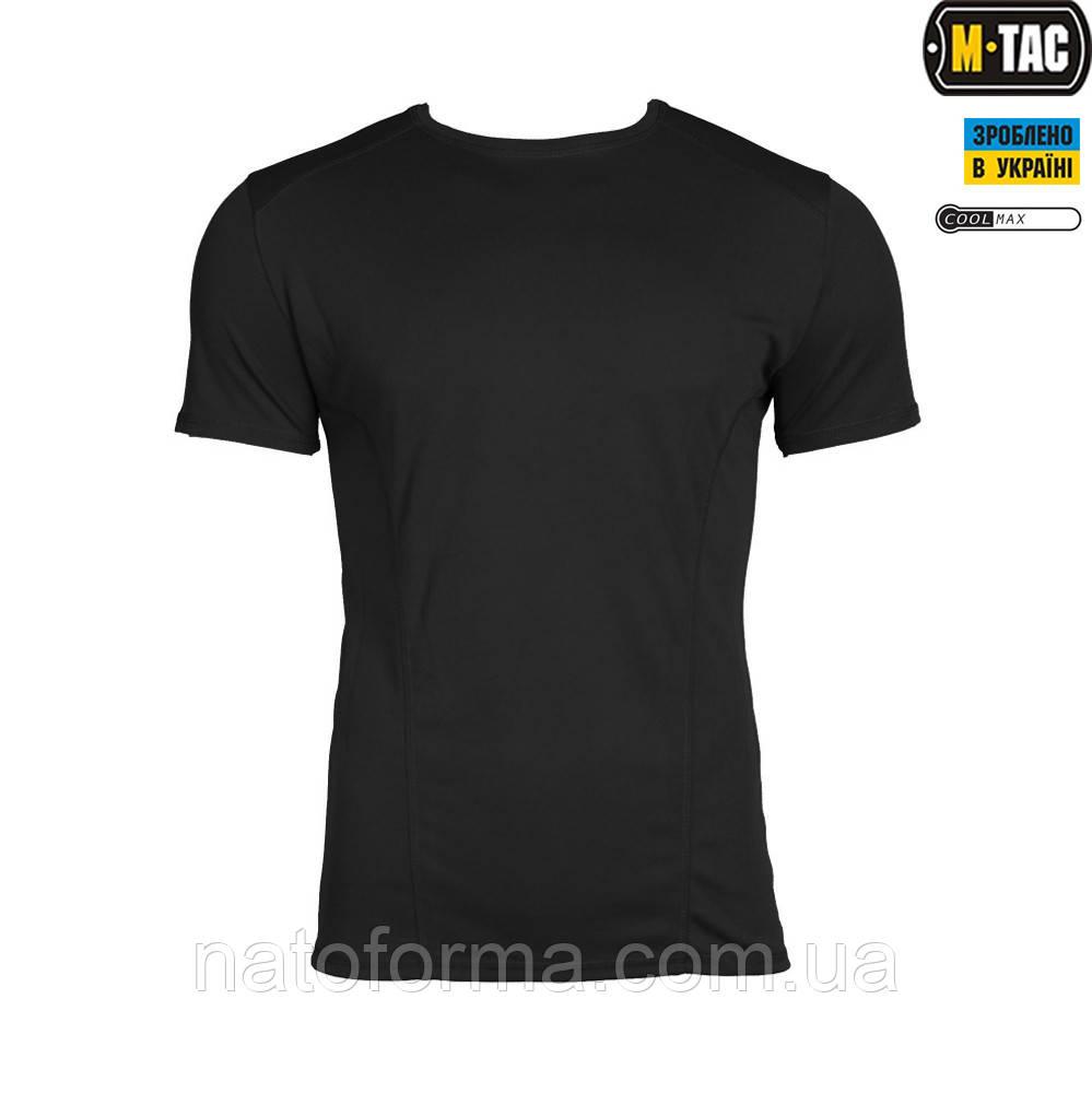 Футболка M-TAC, ATHLETIC COOLMAX (влагоотводящая), черная
