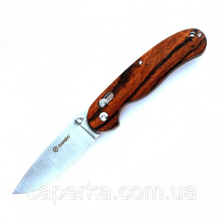 Нож Ganzo дерево G727M-W1