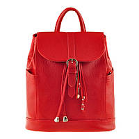 Женский кожаный рюкзак BlankNote Олсен рубин
