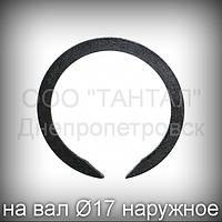 Кольцо 17 ГОСТ 13940-86 упорное концентрическое наружное