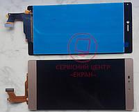 Huawei Ascend P8 GRA L09 дисплей в зборі з тачскріном модуль золотий