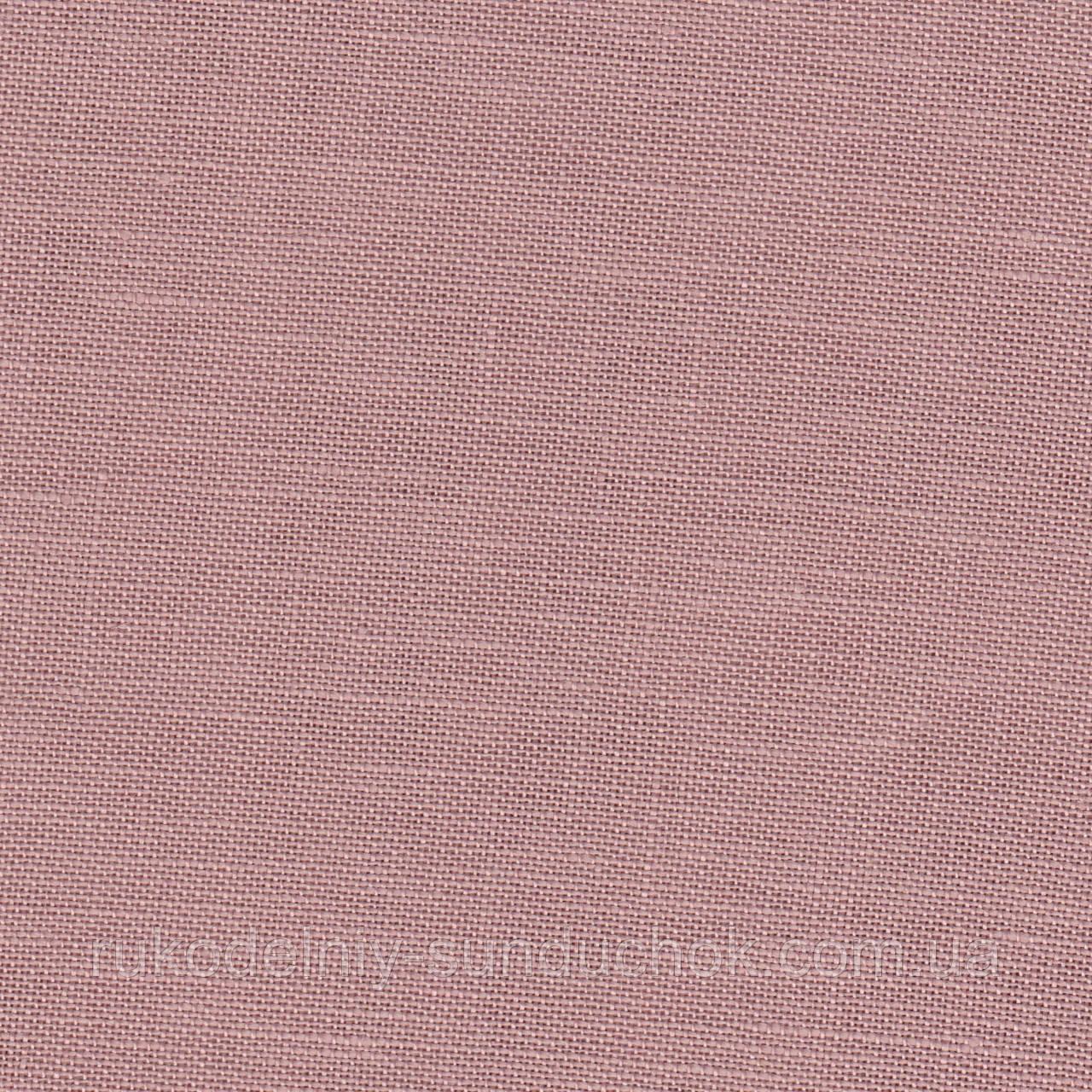 Ткань равномерного переплетения Zweigart Belfast 32 ct. 3609/4053 Antique rose (античная роза)